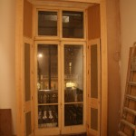 Pimlico Mansion:  Internal window shutters to Lounge window including boxing to window surround.